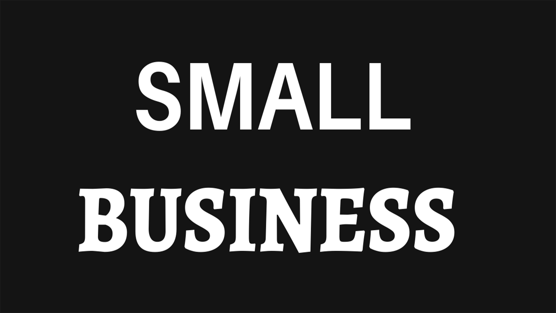 Start your small business